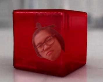 Julie in a jelly