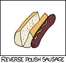 Reverse Polish Sausage.